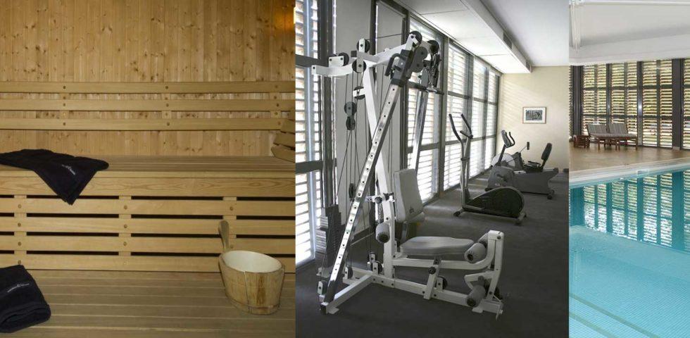 Sauna, Fitness, Piscine